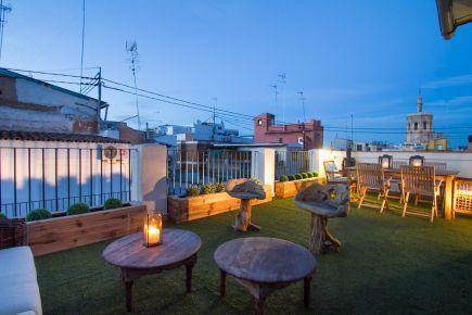Apartamento en Valencia ciudad - Mantas Penthouse