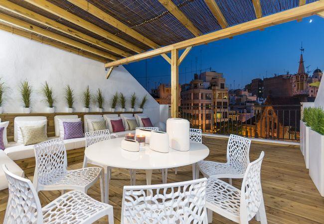 Apartamento en Valencia - Central Market Double with Terrace