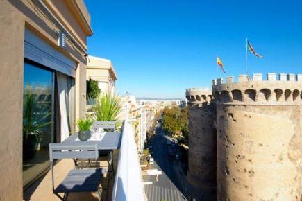 Apartment in Valencia / València - Vistas Torre de Quart 15